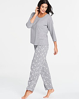 Pretty Secrets Cotton Blend Pyjama Set