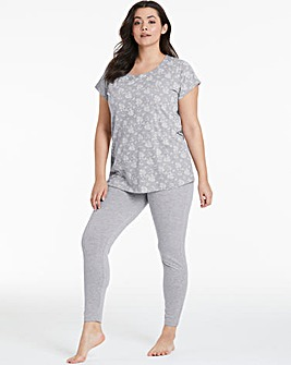 Pretty Secrets Cotton Blend Legging Set