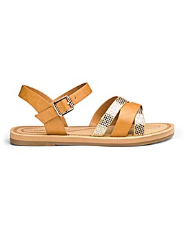 Cushion Walk Lightweight Sandals E Fit