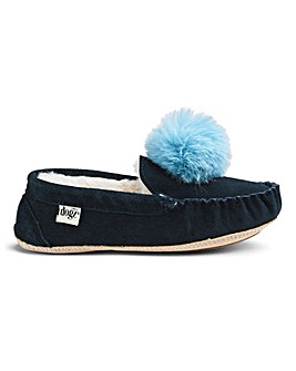 Lazy Dogz Moccasin Slippers E Fit
