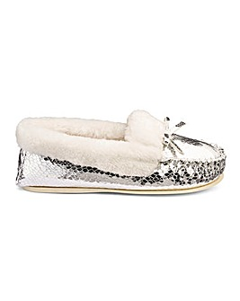 Dunlop Moccasin Slippers D Fit