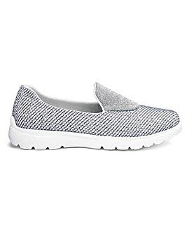 Slip On Leisure Shoes EEE Fit