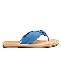 Cushion Walk Toe Post Sandals E Fit