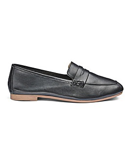 Soft Leather Loafers EEE Fit