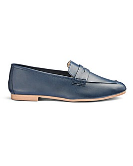 Soft Leather Loafers Extra Wide EEE Fit