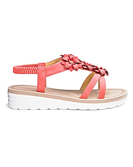 f23bf6599 Women's Wide Fitting Sandals Perfect For Summer | J D Williams