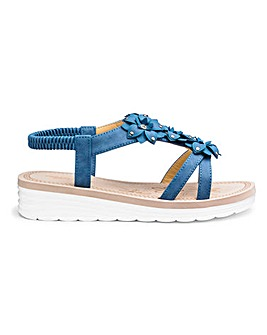 Cushion Walk Flower Sandals EEE Fit