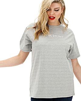Lasula U Ok Hun? Slogan T-Shirt