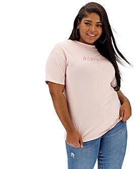 Lasula Babygirl Slogan T-Shirt