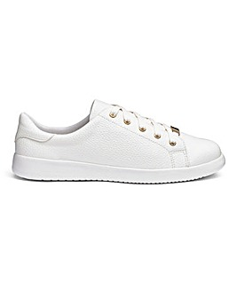 Heavenly Soles Lace Up Leisure Shoes Wide E Fit