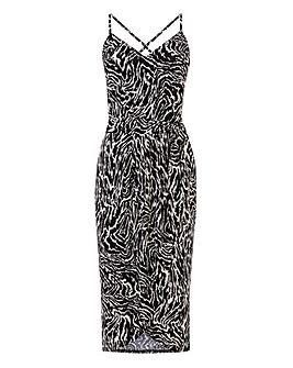 Oasis Patch Cami Wrap Dress