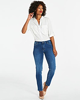 Sadie Blue Slim Leg Jeans
