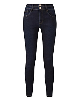 Indigo Shape & Sculpt Skinny Jeans Long