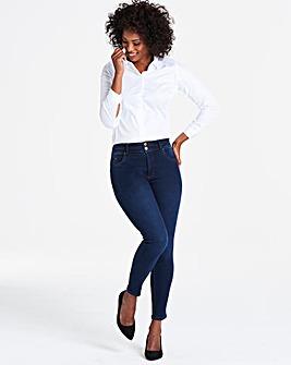Indigo Shape & Sculpt Skinny Jeans Long