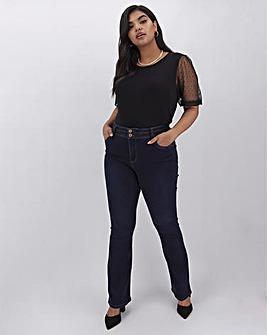 Indigo Shape & Sculpt Bootcut Jeans