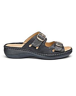 Cushion Walk Mule Sandals EEEEE Fit