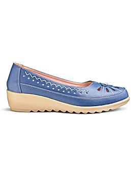 Cushion Walk Slip On Shoes EEE Fit