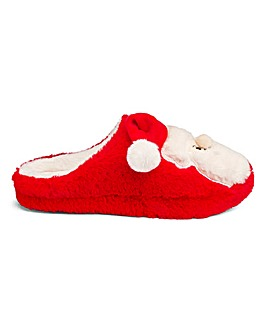 Santa Mule Slippers E Fit