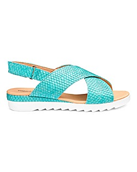 Cushion Walk Crossover Sandals E Fit