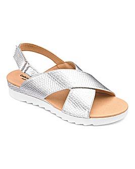 621feb3d747 Cushion Walk Crossover Sandals E Fit