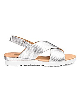 e32dcde2037 Cushion Walk Crossover Sandals E Fit