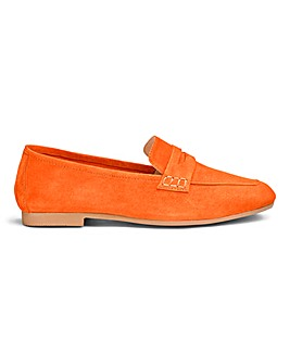 Premium Suede Loafers E Fit
