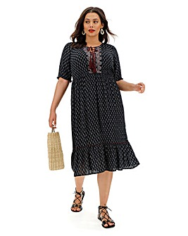 Junarose Aviaya Midi Dress