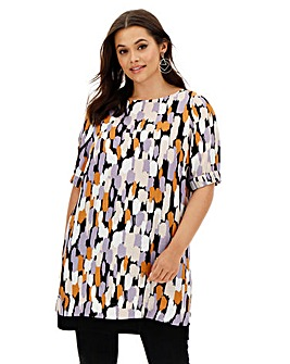 I.Scenery Printed Tunic