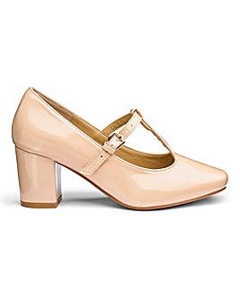 Heavenly Soles T Bar Shoes E Fit