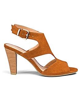 Flexi Sole Buckle Detail Sandals Standard D Fit