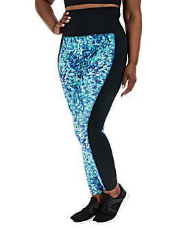 Wolf and Whistle Abstract Curve Legging