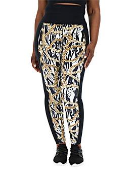 Wolf and Whistle Zebra Chain Legging