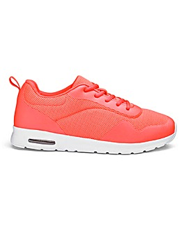 Capsule Active Lace Up Trainers Wide E Fit