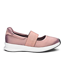 Elastic Strap Leisure Shoes EEE Fit