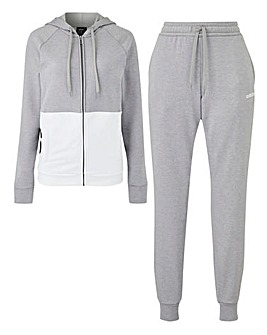 adidas Linear Colour Block Tracksuit