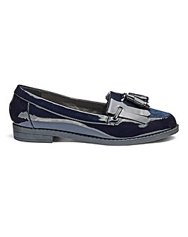 Slip On Fringe And Tassel Loafers Extra Wide EEE Fit