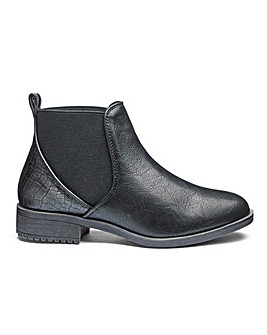 a1b4860cf07 Heavenly Soles Ankle Boots EEE Fit