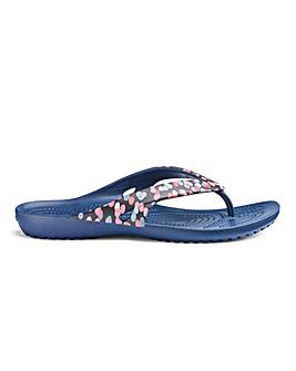 Crocs Kadee II Graphic Flip Sandals