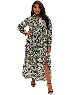 AX Paris Snake Print Maxi Dress