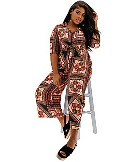 ee652987ee1 AX Paris Printed Jumpsuit