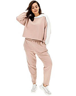 Lasula Colourblock Sweat Jogging Bottoms