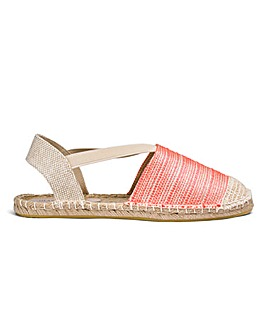 Heavenly Soles Espadrilles Extra Wide EEE Fit