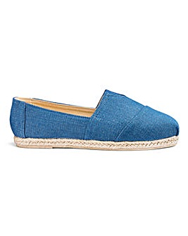 Espadrilles Wide E Fit