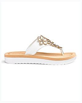 Mule Sandals EEE Fit