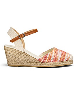 Wedge Espadrilles E Fit