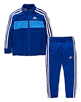 adidas Younger Boys 3S Tracksuit