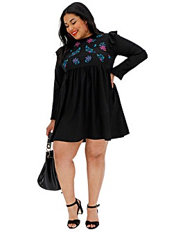 AX Paris Embroidered Tunic