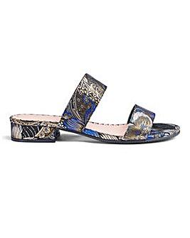 Flexi Sole Mule Sandals E Fit
