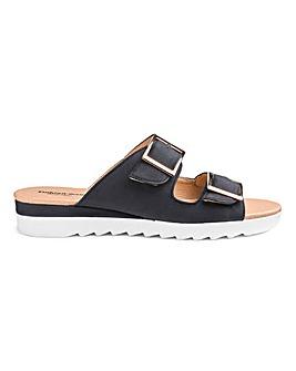 Cushion Walk Mule Sandals EEE Fit