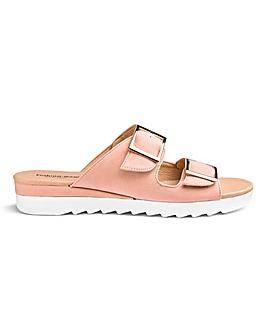 Cushion Walk Mule Sandals E Fit